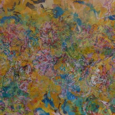 Fleurs de Jaipur 1 (68x24cm)