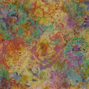 Fleurs de Jaipur 2 (68x24cm)