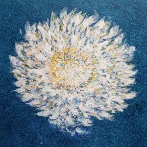 Grande astrance blanche (55x45,5cm)