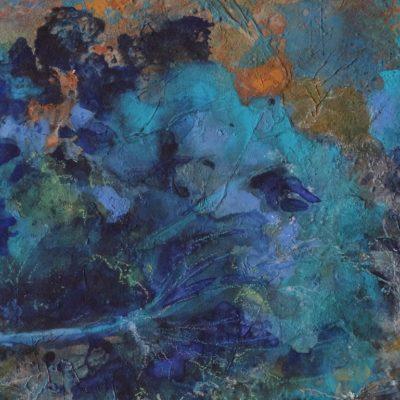 Les quatre arbres bleus (détail 2)