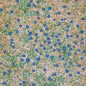 Fleurs de myosotis (25x50cm)