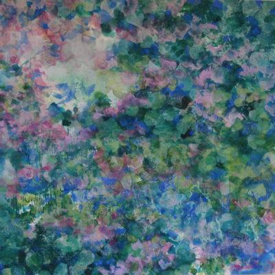 Paysage à Marcel Proust (59x60cm)