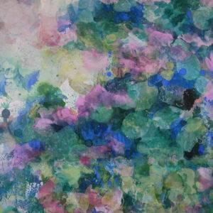 Parfum de lilas (détail)