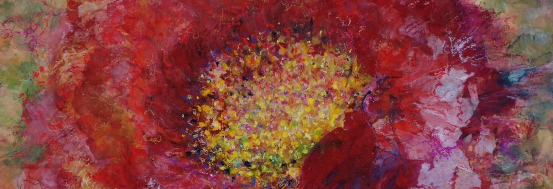 Pivoine peinture papier pigment de conservation
