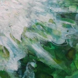 Pivoine blanche (détail 1)