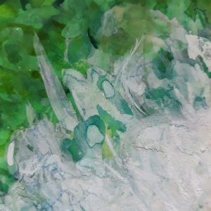 Pivoine blanche (détail 2)