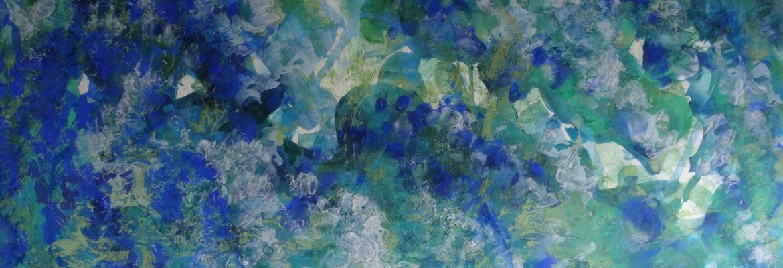 souffle d'exil peinture papier pigments de conservation le chat filant