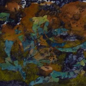 coraux khmers peintures papier pigments le chat filant