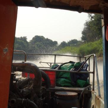 Sur le Tonlé Sap