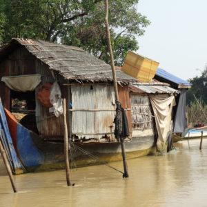 Une maison-bateau de pêcheurs