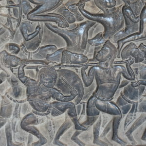 La bataille de Kurukshetra