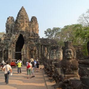 Angkor Thom (porte Sud)