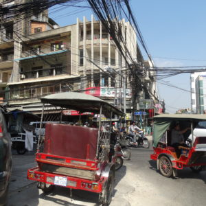 Les rues de Phnom Penh