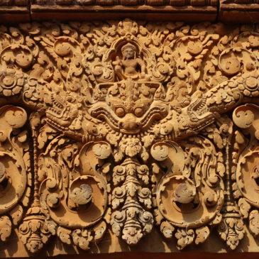 Les temples dans la région d'Angkor