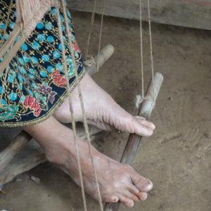 Le travail des tisserandes de Kompong Cham