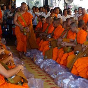 Cérémonie bouddhique à Phnom Penh