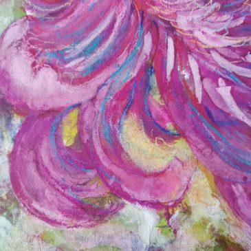 Chrysanthème (détail 2)