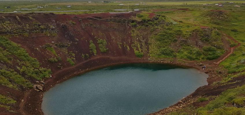 Islande été 2020 Volcan Kerid en 2020