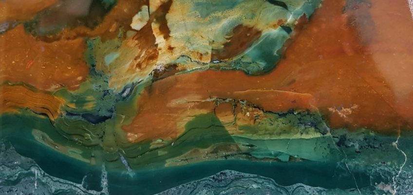 Islande été 2020 (1) Djupivogur - Collection SteinaSafn Audunns - Agates